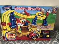 Hasbro Tonka Town Construction Play Set Brand New!  Product description Your little one joins Gary Garage and Chuck the Dump Truck to get the job done with the Tonka Town Construction Set. Watch Gary's mouth and eyebrows move as he interacts with Chuck to Toronto