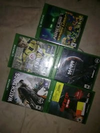four Xbox One game cases Rosebud, 57570
