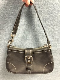 Coach (authentic) leather hobo shoulder bag