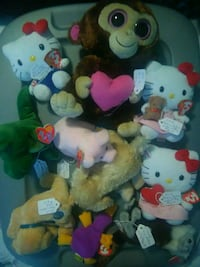 Price Drop. Beanie Babies, Hello Kitty Collection