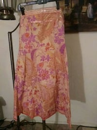 pink and white floral sleeveless dress Albuquerque, 87108
