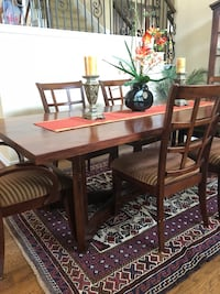 brown wooden dining table set Bee Cave, 78738