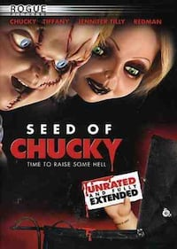 Brand New DVD: Seed of Chucky Unrated and Fully Extended WESTCHESTER
