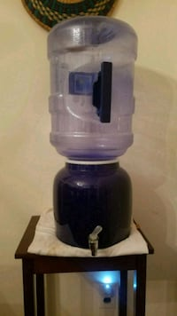 blue water dispenser for 3 or 5gal jugs 27 km