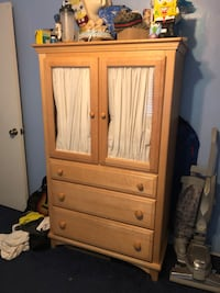 Baby set (closet and table changing drawers Downey, 90242