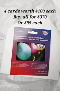 Esso Gas Gift Cards - $400 total Vaughan, L4L 1S6