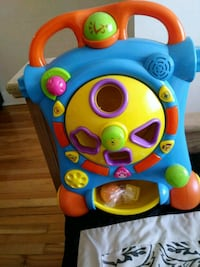 toddler's blue and yellow learning walker toy Montréal, H4H 1V9