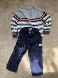 4T winter boys clothes  Fairfax, 22030