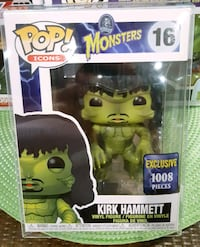 Creature Kirk Hammett Limited Edition Funko Pop RO
