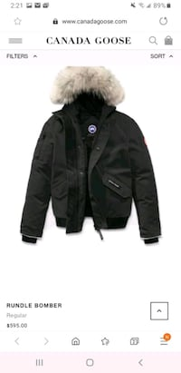 Canada Goose Jacket (youth M)