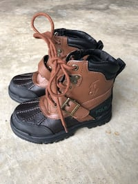 Kids youth size 9y, polo Ralph Lauren boots Dallas, 30132