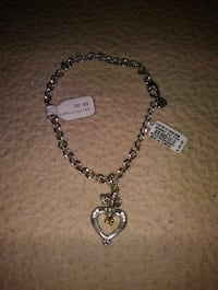 "New Brighton ""A Cupid's Devotion"" Charm Bracelet 2059 mi"