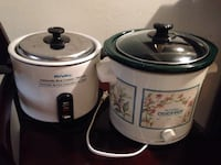 Crockpot and rice cooker Tucson, 85719