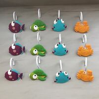 Shower Curtain Hooks **FINAL REDUCTION**