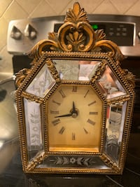 Victorian table clock