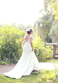 Lace Maggie Sottero Wedding Gown Guelph