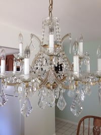 Beautiful antique Chrystal chandelier. Best offer.. Moving. Toms River, 08755