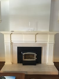 Fireplace wood insert