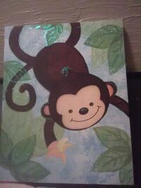 Monkey canvas picture Waterloo, 50701