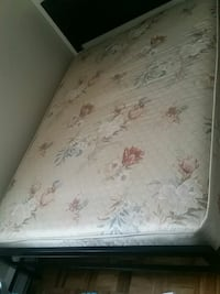 white and brown floral mattress Toronto, M8V 3G9