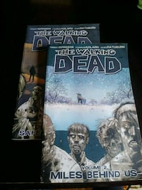 Walking Dead Graphic Novels 2 and 3 Creemore, L0M 1G0