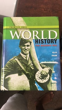 Prince Georges High School World History Book Greenbelt, 20770