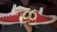 Redskins chuck taylors size 11 fits more like a 10.5 Frederick, 21703