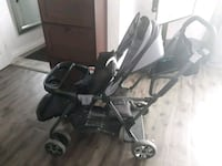 Sit n stand double stroller Laval, H7W 1K5