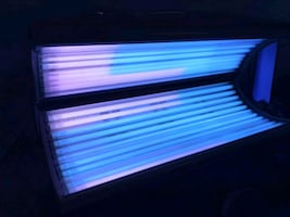 Radiance 29 trio canopy 120v tanning bed