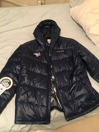 XL Toronto Blue Jays Columbia Light Bubble Jacket