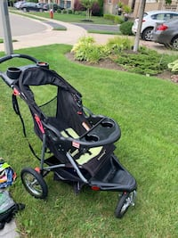 All terrain foldable stroller