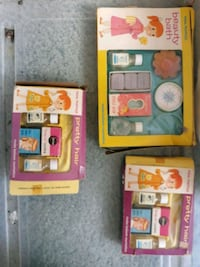 3 boxes from1950's dime store