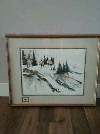 Ned Pierce County Lithograph Print Prineville, 97754