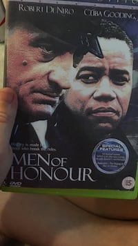Men of Honour movie DVD case Fairfax, 22030