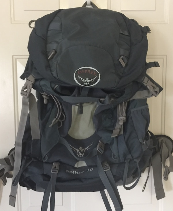 8db9048e70 Used Osprey Aether 70 Backpack for sale in San Antonio - letgo