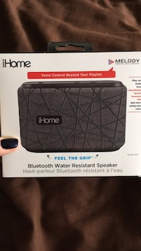 Bluetooth water resistant speaker