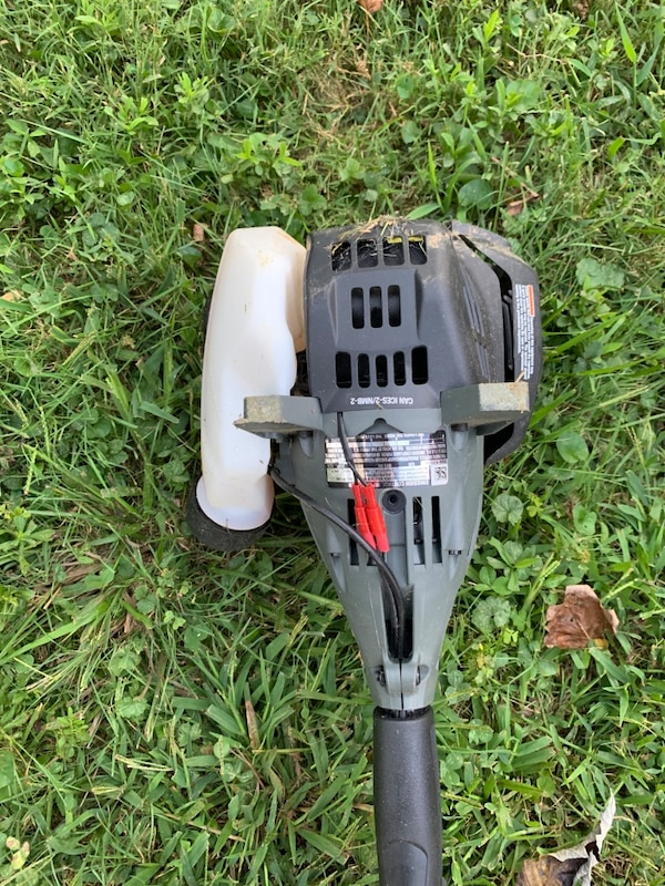 Ryobi 4 cycle weed trimmer - Weedwhacker. Only 8 months out. 8869af13-167e-4f66-aa2f-9552e4f5c97a