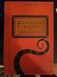 Fantastic Beasts & where to find them book by J.K. Rowling Purlear, 28665