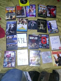 Tonight only 2 photos a grand total of 50 DVDs with all great movies