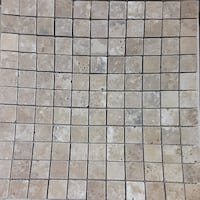 """New! 12"""" x 12"""" Noce Travertine Honed Mosaic Tile $4.79 SqFt! TIL484 Save up to 73%"""