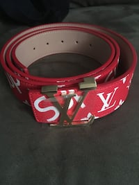 red and white Gucci belt Glendale, 85301