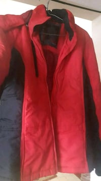 Red winter jacket for women. Size M Toronto, M9V 5E7
