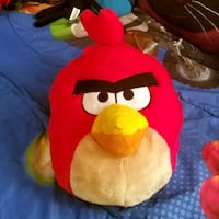 Plush Angry Bird backpack with adjustable straps Indianapolis, 46220
