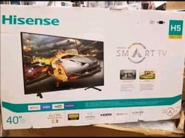 "TV 40"" NEW SMART YOUR CHOICE $175"