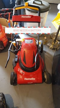 Homelite mower needs a new battery