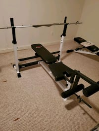 2 weigh bench + 2 bars and weights Woodbridge, 22193