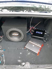 Subwoofer and amps