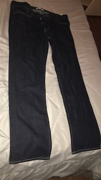 Abercrombie and Fitch size 34x32 slim straight jeans!!! New! Progreso, 78596