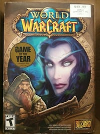 World of Warcraft PC 6 disc Game