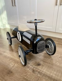 Vintage Style Ride-On Metal Car by Vilac, Brand New